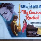 CF24 My Cousin Rachel  de HAVILLAND and RICHARD BURTON original 1953 TC