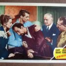 CG11 Crisis CARY GRANT and JOSE FERRER Orig 1950 Lobby Card
