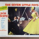 CG39 Seven Little Foys BOB HOPE Original 1955 Lobby Card