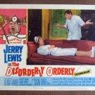 CG17 Disorderly Orderly JERRY LEWIS original 1964  Lobby Card