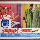 CH16 Disorderly Orderly JERRY LEWIS Org 1965 Lobby Card