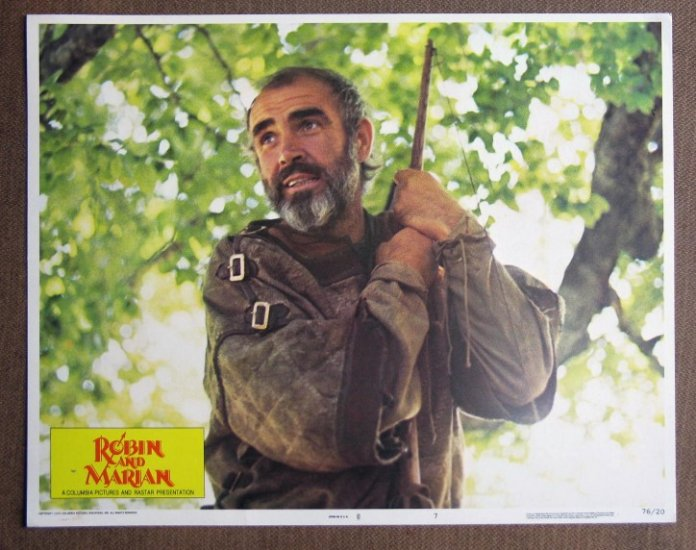 CI28 Robin & Marian SEAN CONNERY portrait Lobby Card