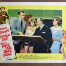 CI38 Take Her, She's Mine SANDRA DEE and JAMES STEWART Lobby Card