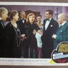 CK18 Julia Misbehaves GREER GARSON & WALTER PIDGEON Lobby Card