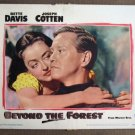 CL03 Beyond The Forest BETTE DAVIS Original 1949 Portrait Lobby Card