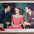 CL36 No Minor Vices LOUIS JOURDAN & LILLI  PALMER  Original 1948 Lobby Card