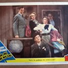 CO10 For Me & My Gal JUDY GARLAND & GENE KELLY  Original 1942 Lobby Card