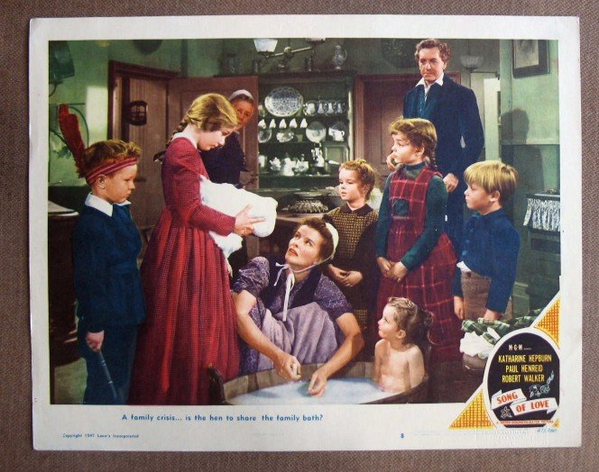 CO38 Song Of Love KATHARINE HEPBURN 1947 Lobby Card
