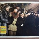 CO48 Wintertime SONJA HENIE & CORNEL WILDE  Original 1943 Lobby Card