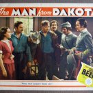 CR35 Man From Dakota DOLORES DEL RIO Original 1940 Lobby Card