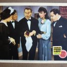 CS09 CHARLIE CHAN IN RIO Sidney Toler 1941 Lobby Card RARE