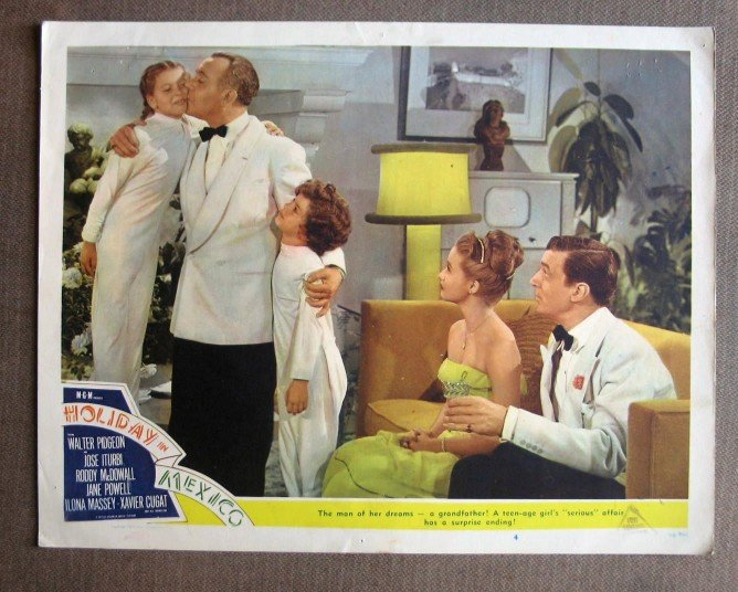 CS20 Holiday In Mexico JANE POWELL  Original 1946 Lobby Card