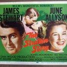 CM42 Stratton Story JUNE ALLYSON & JAMES STEWART R56 Title Card