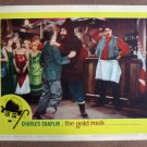 CO13 Gold Rush CHARLES CHAPLIN   Original '59R Lobby Card
