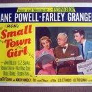 CP38 Small Town Girl   JANE POWELL & FARLEY GRANGER Original 1953 Lobby Card
