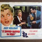 CQ23 It Should Happen To You JUDY HOLLIDAY Lobby Card