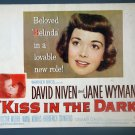 BC24 Kiss In The Dark JANE WYMAN ORIGINAL 49 Title Card