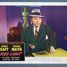 BG47 Red Light GEOriginalE RAFT ORIGINAL 1949 PORTRAIT Lobby Card