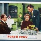 BG51 Torch Song JOAN CRAWFORD and ROBERT YOUNG Original 1953 Lobby Card