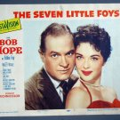 BH44 7 Little Foys BOB HOPE ORIGINAL 1955 PORTRAIT Lobby Card
