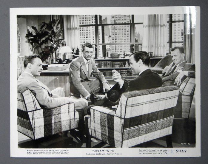 BI02 Dream Wife CARY GRANT ORIGINAL 1953 Studio Still