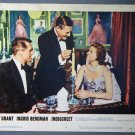 BI39 Indiscreet CARY GRANT and INGRID BERGMAN 1958 Lobby Card