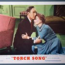 BI47 Torch Song JOAN CRAWFORD ORIGINAL 1953 Lobby Card