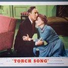 BI47 Torch Song JOAN CRAWFORD ORIGINAL 1953 Lobby Card
