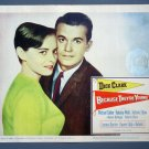 BG17 Because They19re Young DICK CLARK Original 1960 Lobby Card