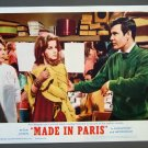 BG40 Made In Paris ANN-MARGARET and LOUIS JOURDAN 1966 Lobby Card
