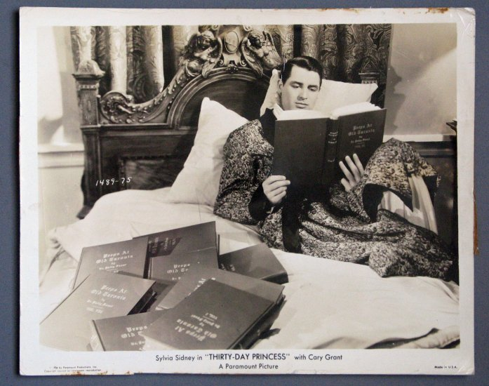 BD06 30 Day Princess CARY GRANT ORIGINAL 1934 Studio Still