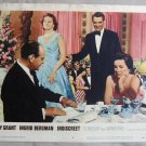BK20 Indiscreet CARY GRANT and INGRID BERGMAN Original 1958 Lobby Card