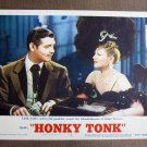 BN35 Honky Tonk CLARK GABLE and CLAIRE TREVOR 1955 Lobby Card