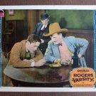 BN74 VARSITY Charles (BUDDY) Rogers Original 1928 Lobby Card