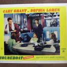 BO26 Houseboat CARY GRANT and SOPHIA LOREN 1958 Lobby Card