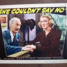 BO42 She Couldn't Say No EVE ARDEN PORTRAIT Lobby Card