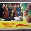 BP18 Crack-Up CLAIRE TREVOR and HERBERT MARSHALL Lobby Card