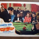 BP39 OTHER LOVE Barbara Stanwyck Original 1947 Lobby Card