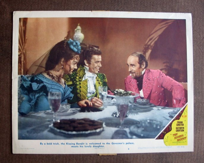 BS35 Kissing Bandit FRANK SINATRA and KATHRYN GRAYSON Lobby Card