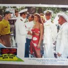 BT31 On An Island ESTHER WILLIAMS and RICARDO MONTALBAN Lobby Card