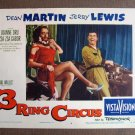 BT48 3 Ring Circus JERRY LEWIS and ELSA LANCHESTER Lobby Card