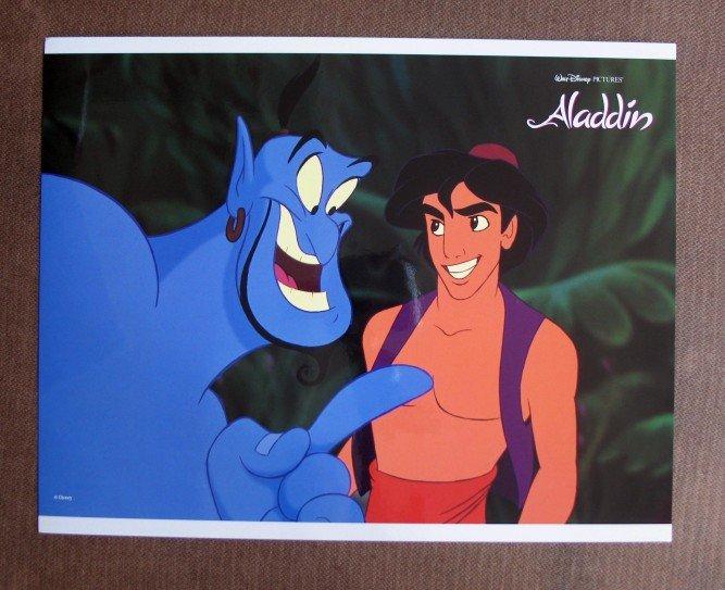 BU10 Aladdin Original 1992 WALT DISNEY Lobby Card