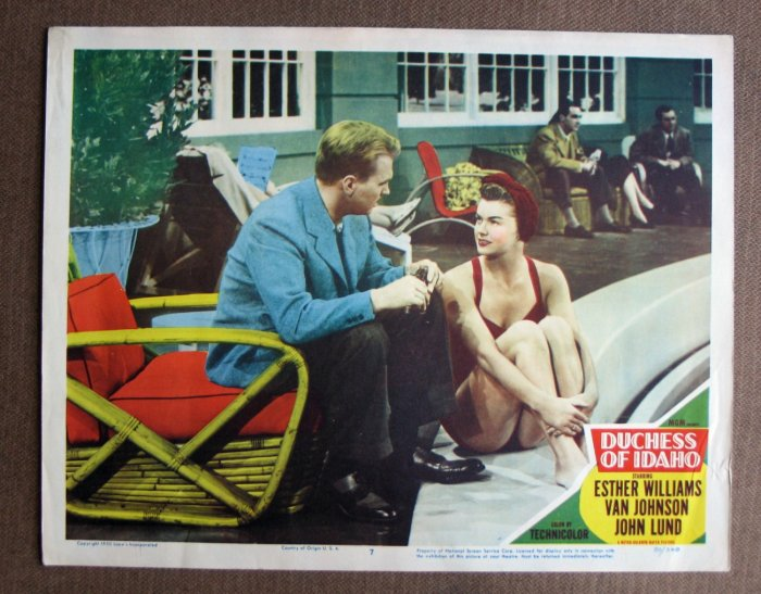 BV17 Duchess of Idaho ESTHER WILLIAMS 1950 Lobby Card