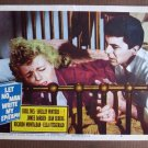 BV24 Let No Man Write My Epitah ELLA FITZGERALD and JEAN SEABERG Lobby Card