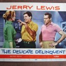 BW11 Delicate Delinquent JERRY LEWIS Original 1957 Lobby Card