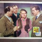 BW44 Thin Ice SONJA HENIE 1937 Portrait Lobby Card