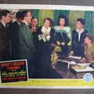 BW50 What's Buzzin' Cousin ANN MILLER 1943 Lobby Card