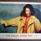 BY02 Angel Wore Red AVA GARDNER 1960 Portrait Original  Lobby Card