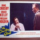 BY08 Country Girl BING CROSBY and WILLIAM HOLDEN 1954 Lobby Card