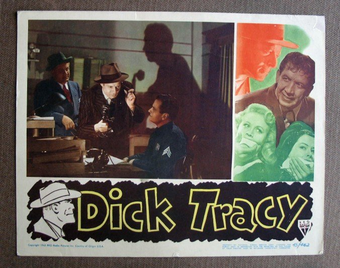 BY11 Dick Tracy MORGAN CONWAY Original 1945 Lobby Card